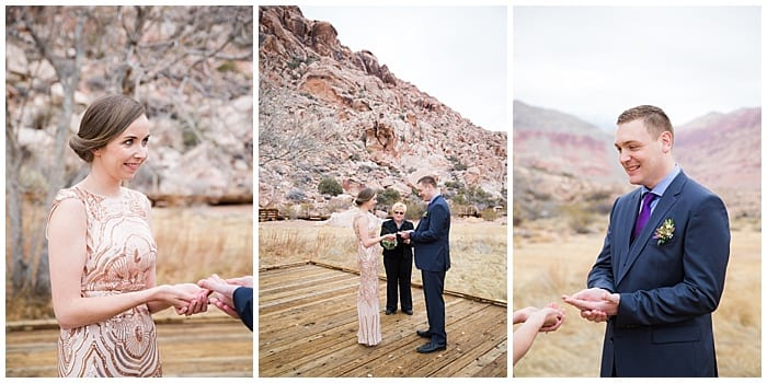 Calico Basin Wedding In Red Rock Las Vegas Photographers Elopement