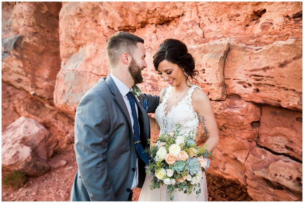 las vegas elopement packages at red rock canyon