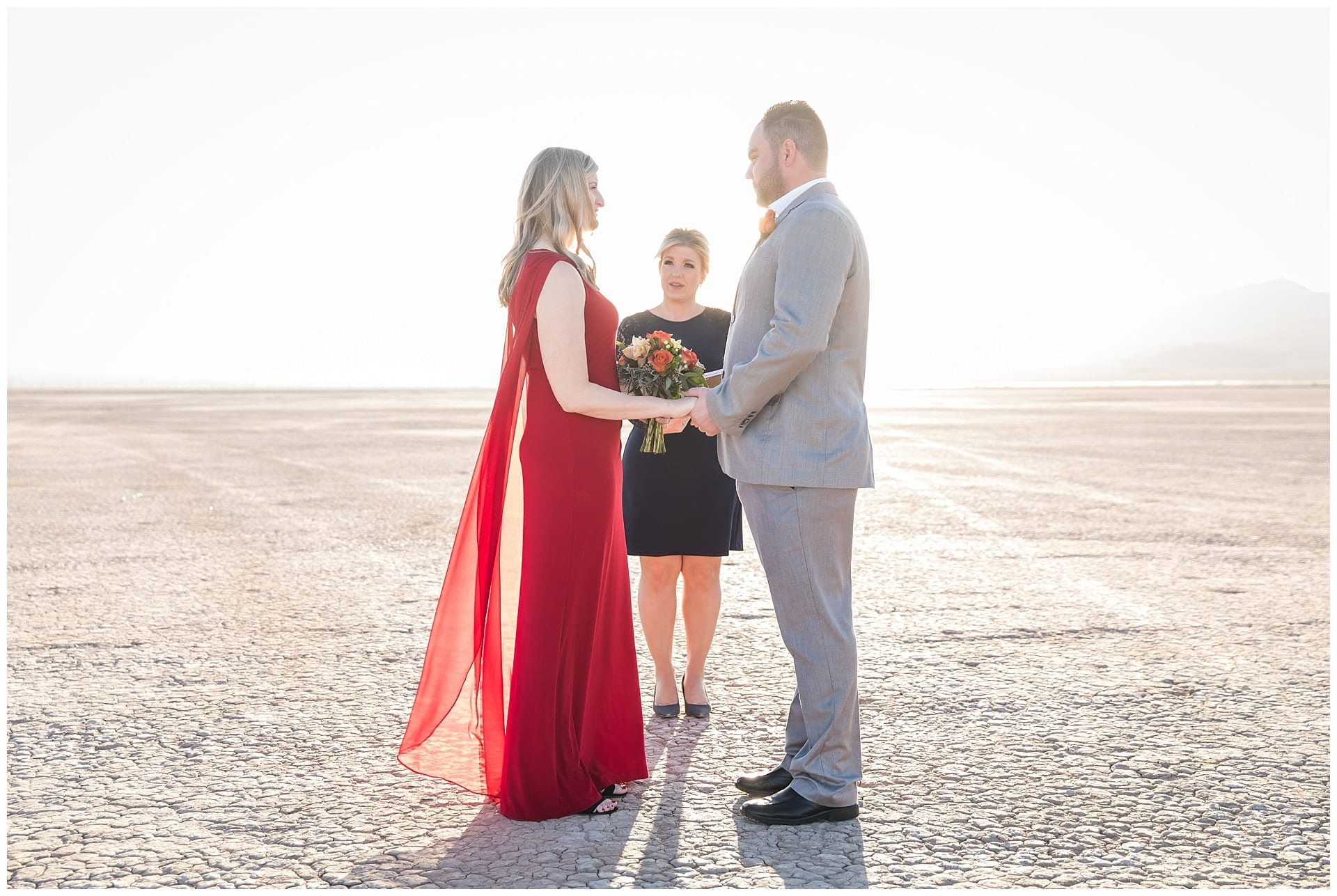 Las Vegas Elopement Packages at The Dry Lake Bed