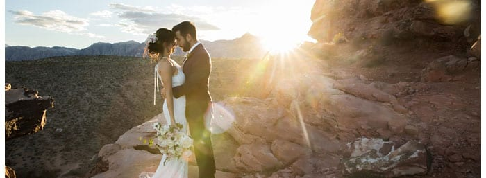 The best destination wedding location in the USA is Red Rock Canyon in Las Vegas, NV.