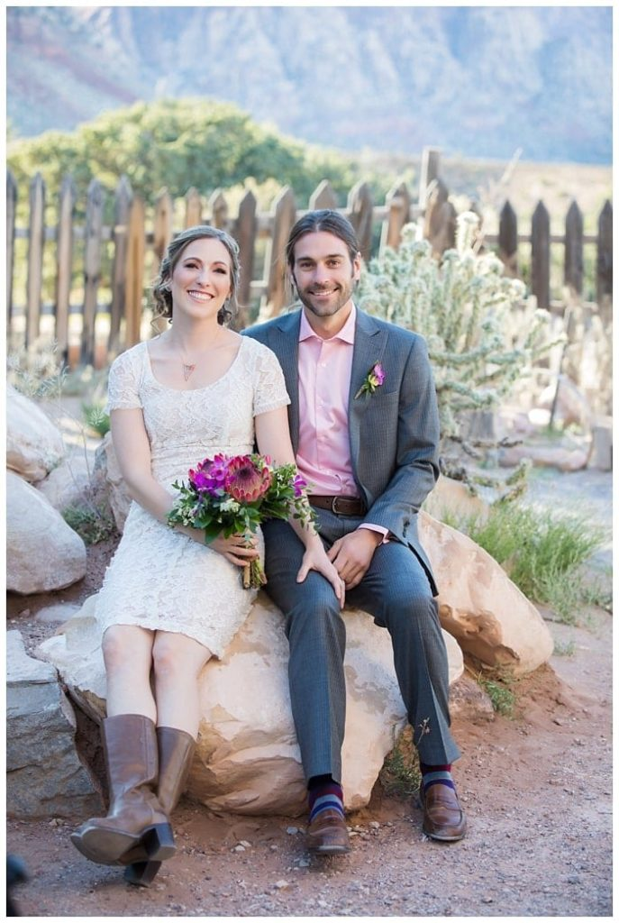 las vegas elopement packages at red rock canyon wedding at bonnie springs by cactus collective and taylored photo memories