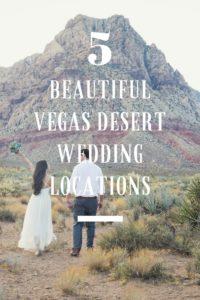 5 Most Beautiful Desert Wedding Locations