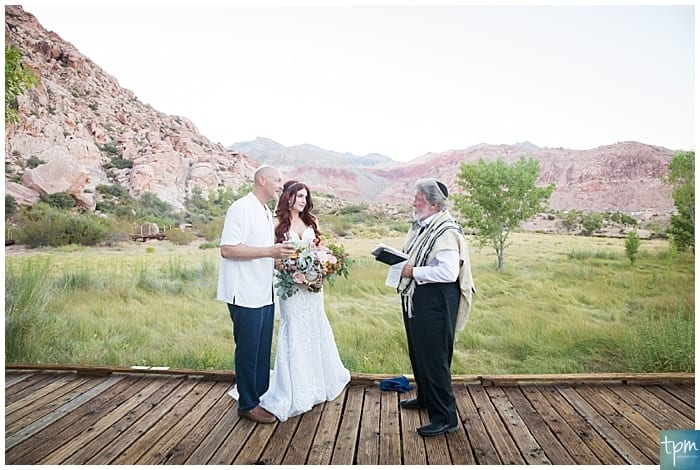 Calico Basin at Red Rock Canyon Las Vegas Elopement Packages