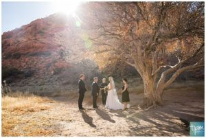 Red Rock Canyon Vegas Elopement Packages