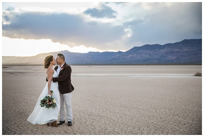 Learn more about our intimate desert Las Vegas elopement packages
