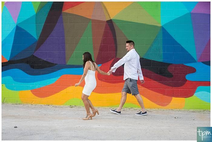 Plan your Las Vegas Elopement in downtown Las Vegas in front of the epic Las Vegas murals