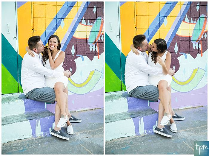 Plan your Las Vegas Elopement in downtown Las Vegas in front of the epic Las Vegas murals