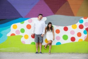 Las Vegas Elopement for 2 at the Murals in Downtown Vegas