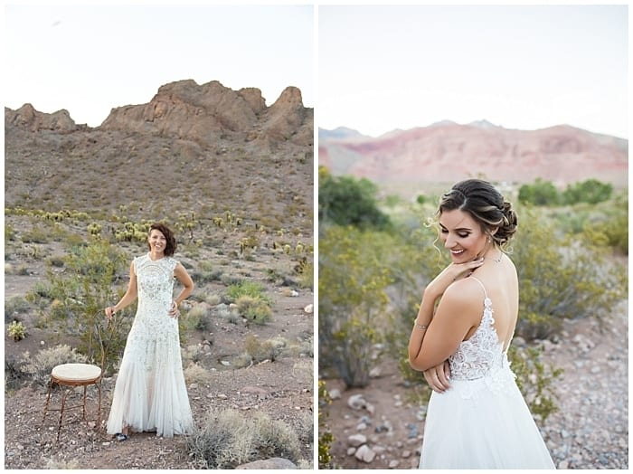Favorite Las Vegas Elopement Wedding Dresses Cactus Collective