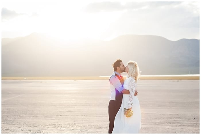 April + Edwardo   Dry Lake Bed Wedding
