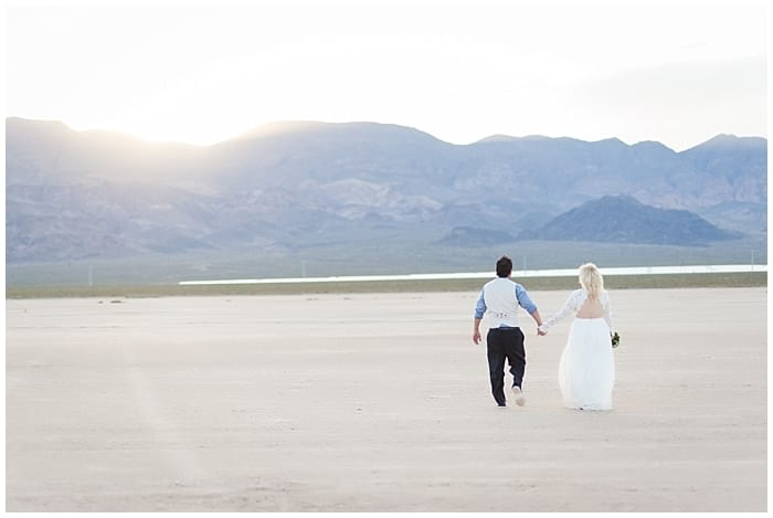 April + Edwardo | Dry Lake Bed Wedding