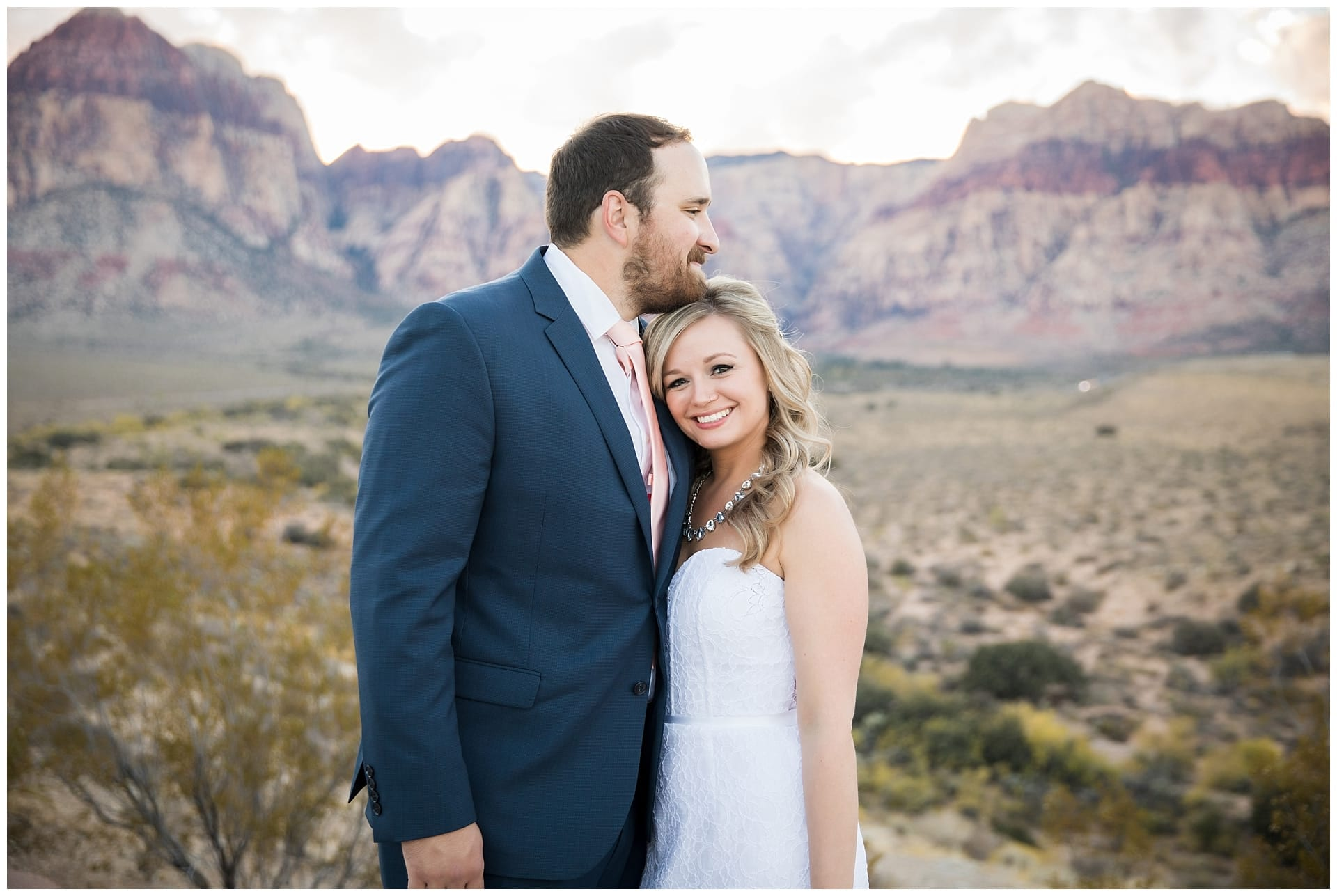 Red Rock Canyon Overlook, Best Wedding Venue in Las Vegas by Cactus Collective Weddings