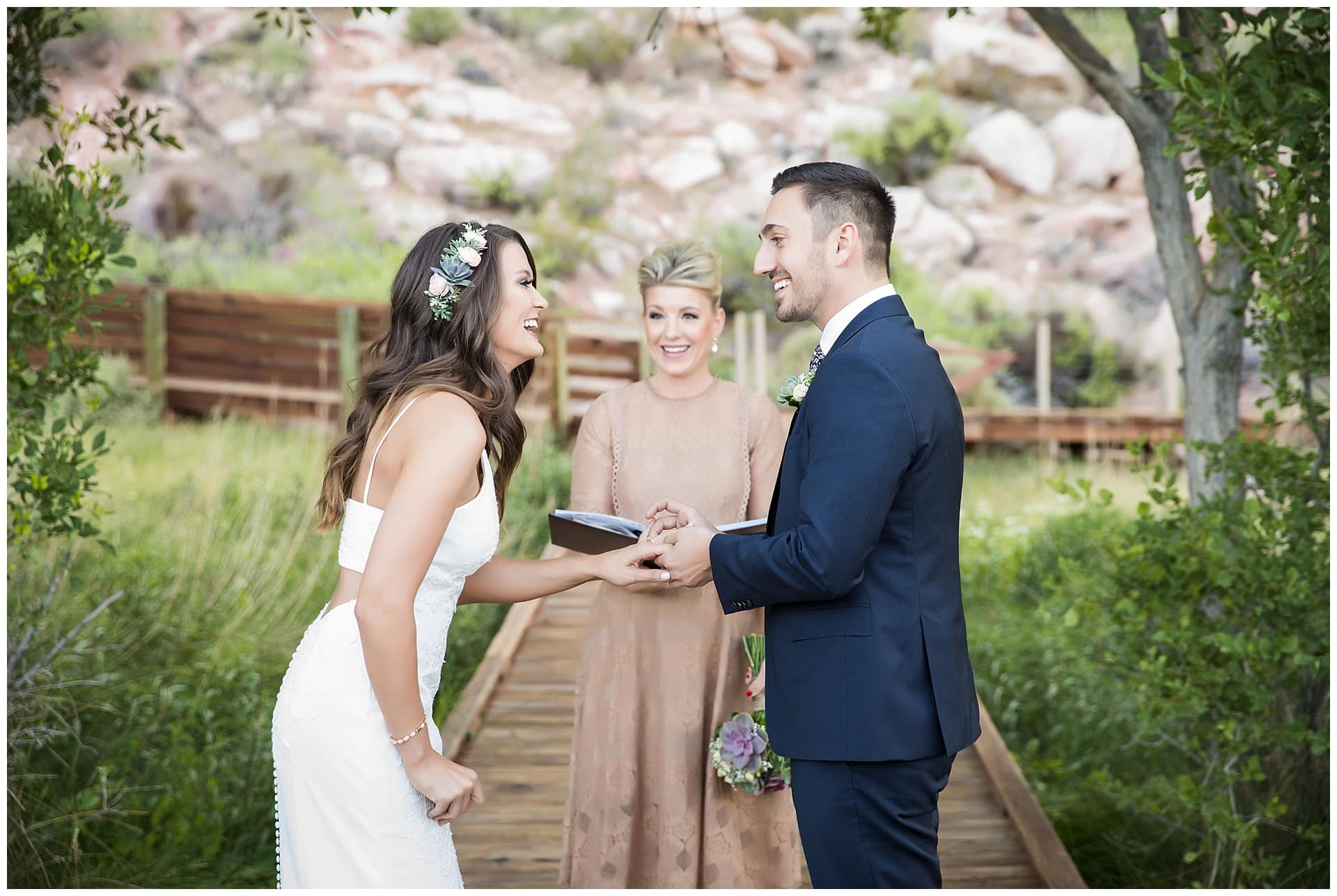 Red Rock Canyon Red Spring, Best Wedding Venue in Las Vegas by Cactus Collective Weddings