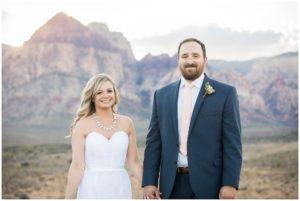 Ashley Brad Red Rock Canyon Wedding