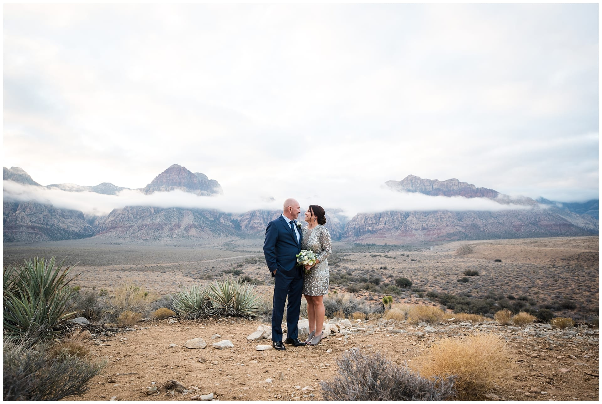Winter Wedding in Red Rock Canyon