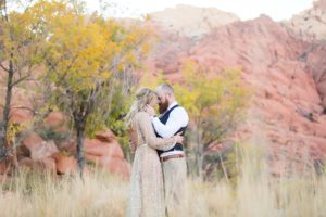 Carrie + Mark | Red Rock Canyon Wedding