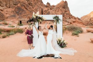 Valley of Fire - A Beautiful Desert Wedding Location