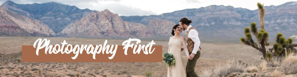 Finding a Great Las Vegas Wedding Photographer - Photography First