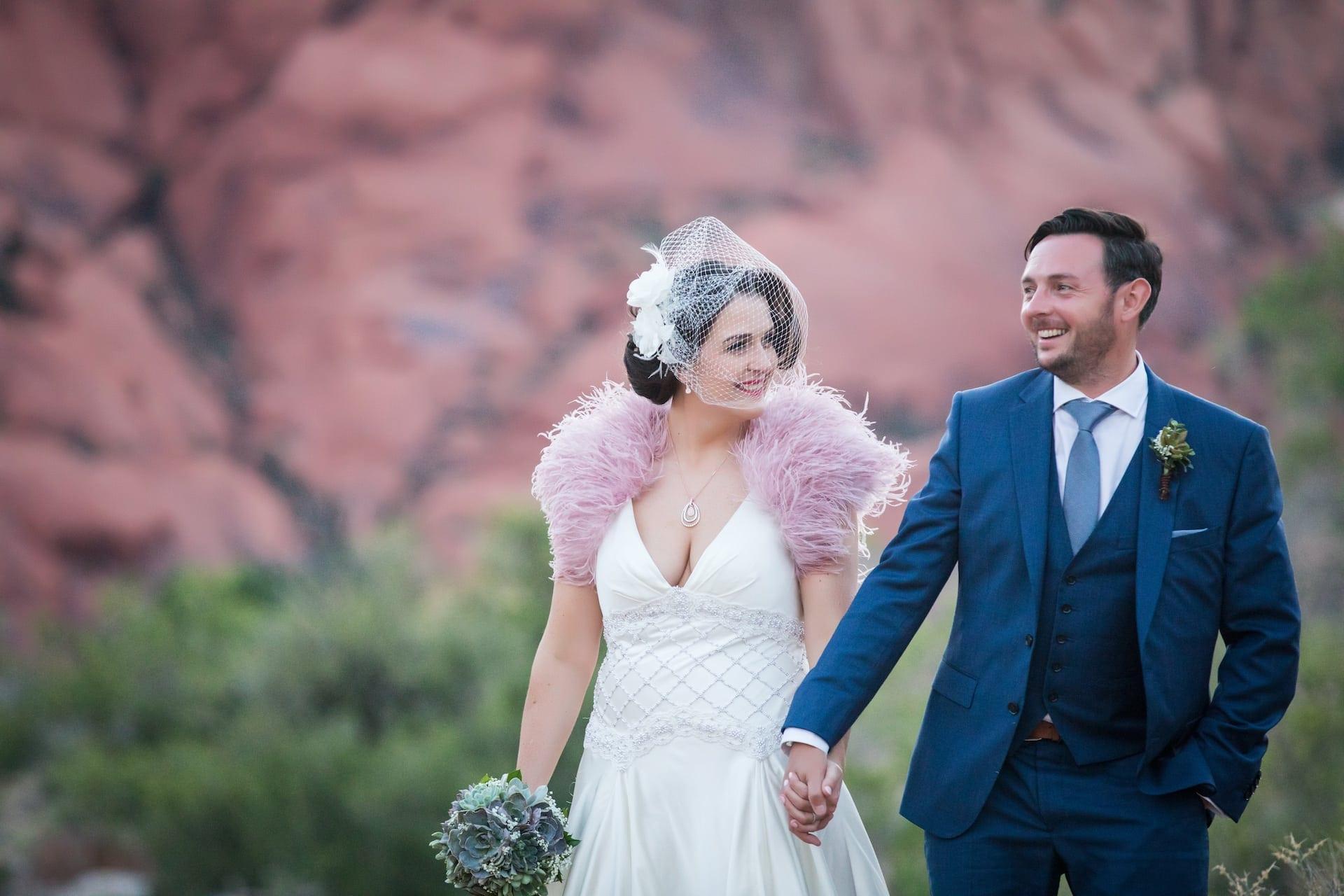 Gail + Nick eloping in Vegas.
