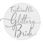 Featured in Glittery Bride