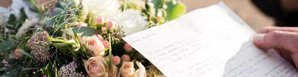 Wedding vow examples.