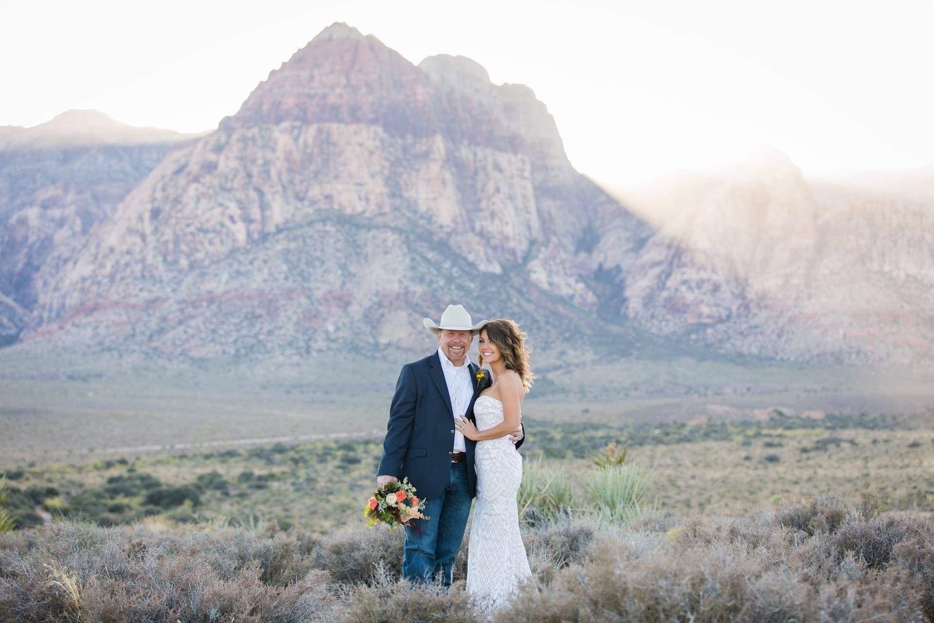 Rodeo weddings in Vegas by Cactus Collective Weddings