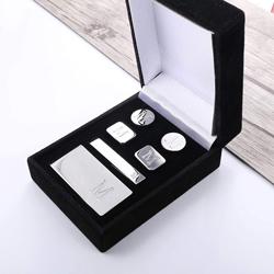 Groomsmen Gifts: Personalized Cufflinks