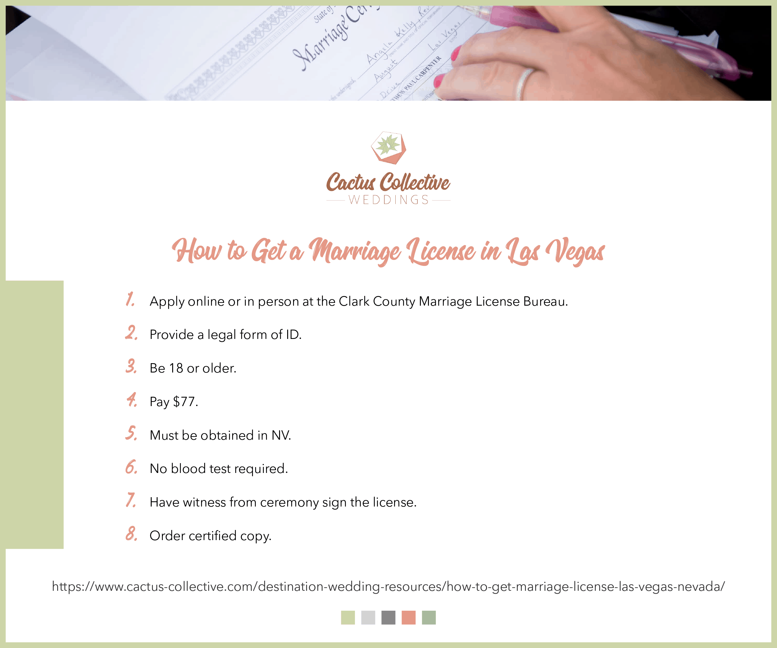Las Vegas Marriage License