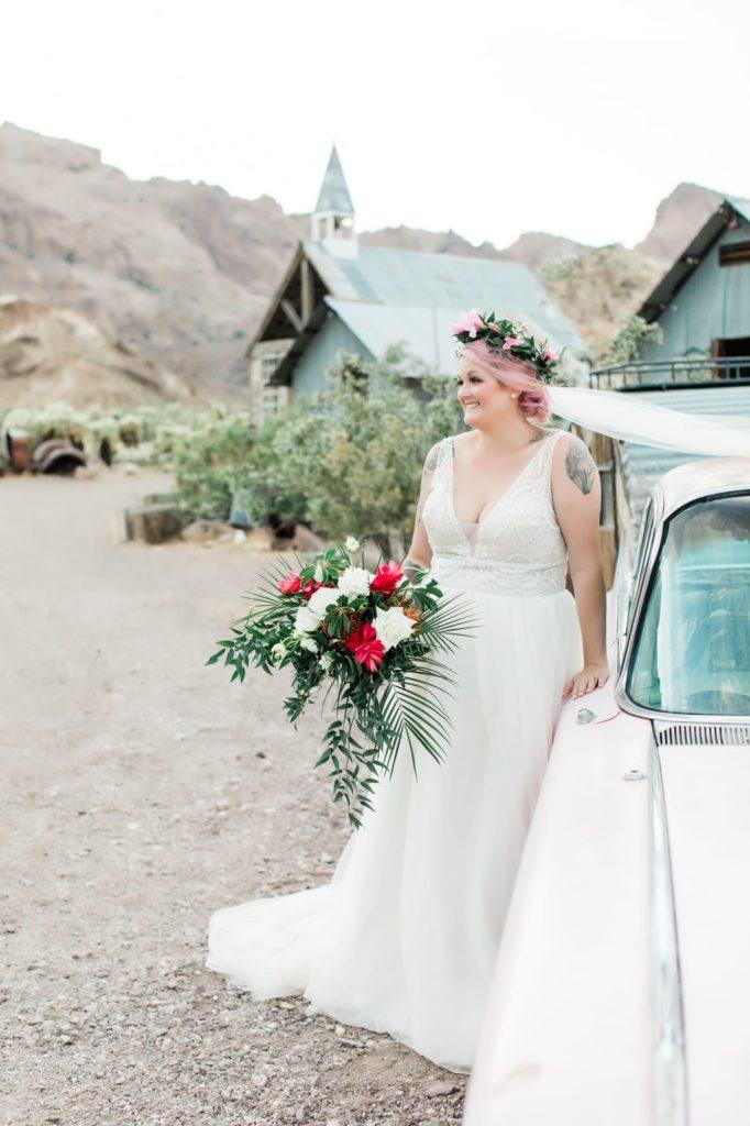 Hayley, Eldorado Canyon Wedding
