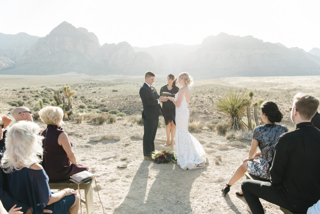 Ceremony at Red Rock Canyon.