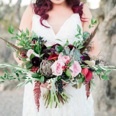 Wedding Day Luxe Floral Bouquet